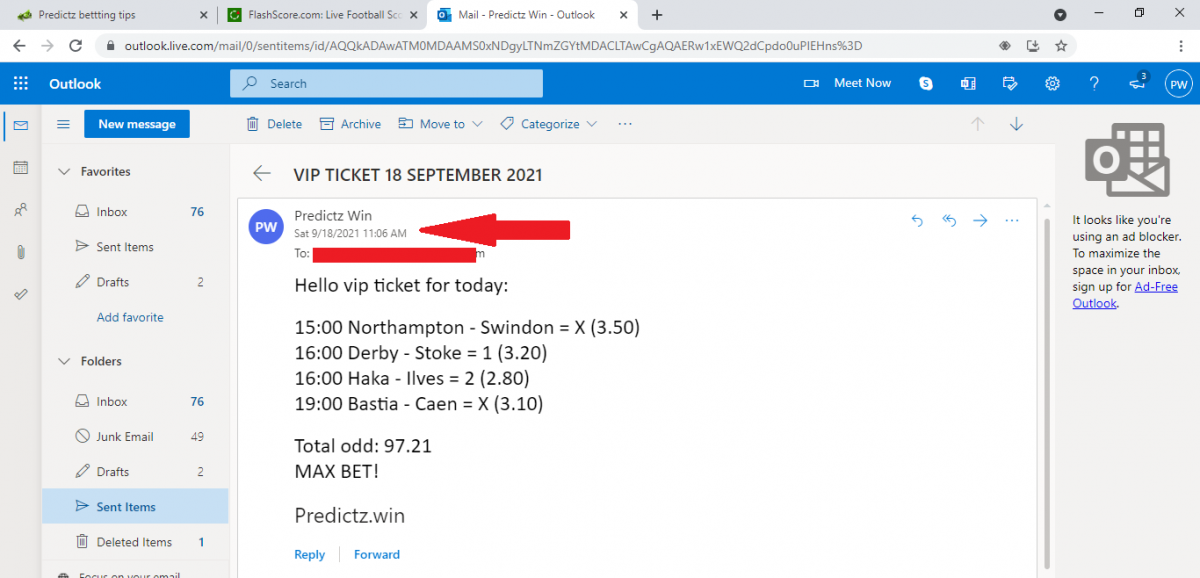 predictz ticket 18.09.2021