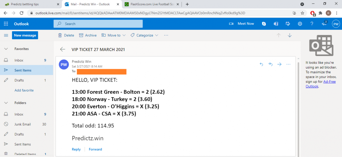 predictz ticket 27.03.2021