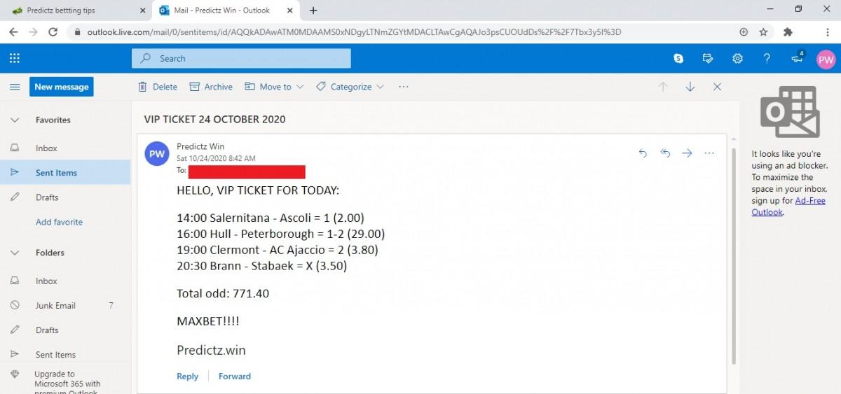predictz ticket 24.10.2020